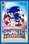 Sonic Adventure Card