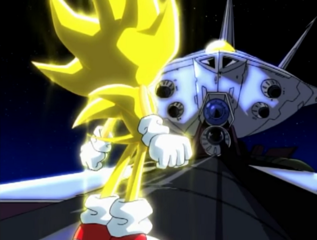 File:Ep52 Super Sonic standing on the Grand Egg Imperial.png