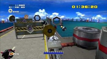Sonic Adventure 2 (PS3) Weapons Bed Mission 4 A Rank