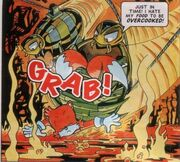 Grabber the Comic