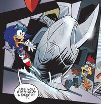 Silver Sonic v3.0 ball