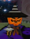 Twinkle Park Pumpkin Ghost