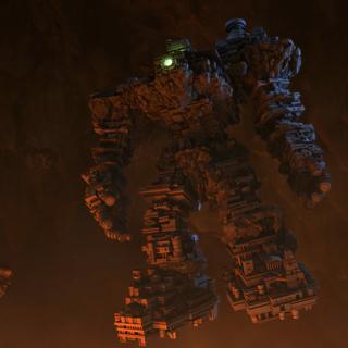 Los 7 Templos de Gaia, fusionados en Gaia Colossus