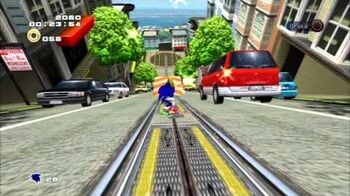 Sonic Adventure 2 (PS3) City Escape Mission 2 A Rank