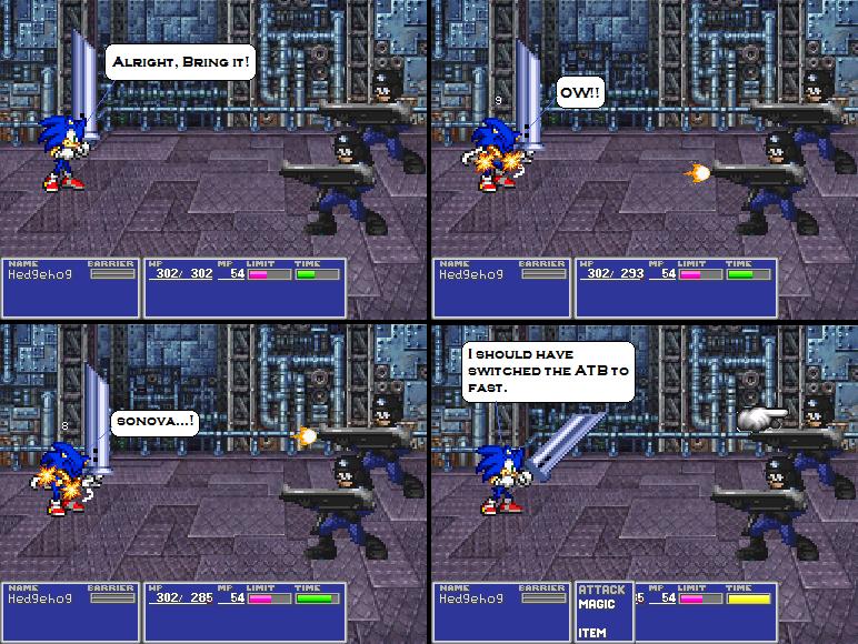 Sonic ff crossover 2