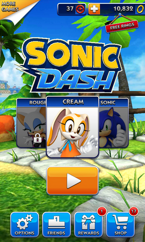 File:Sonic Dash Cream Home Page.png