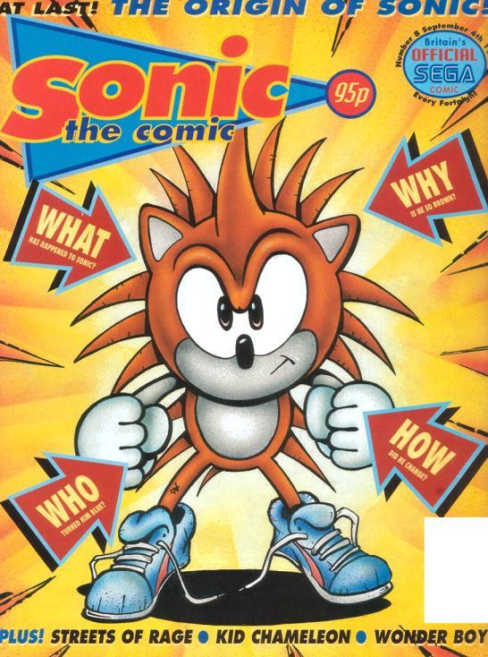 Sonic The Comic Issue 8 Sonic News Network Fandom