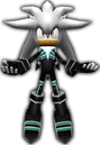 File:Sonic Rivals 2 - Silver the Hedgehog costume 1.png