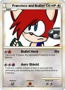 Trading card Francisco and Bullet