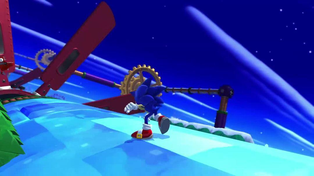 Sonic Lost World - Play Together Trailer