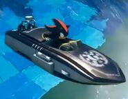 The G.U.N. Auto Treader (Boat form)