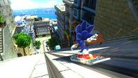 Sonic Generations City Escape snowboard