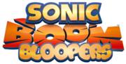 Sonic boom bloopers logo see description by fixerschannel-dan8xf8