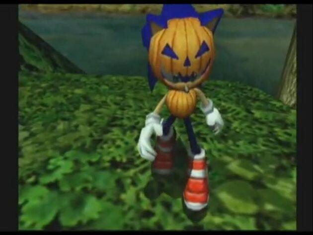Sonic Pumpkin Suit