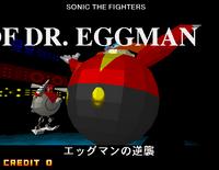 Eggman's Robot at background