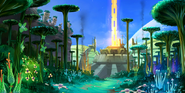 Concept artwork - Sonic Colors - Nintendo DS - 018 - Planet Wisp