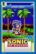 Classic Sonic Online Card
