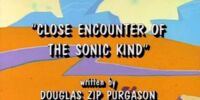 Close Encounter of the Sonic Kind