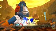Egg Kong Sonic vs Metal Sonic