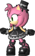 Gothic Amy (Sonic Runners)
