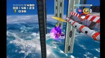 Sonic Heroes Egg Fleet (Team Rose)