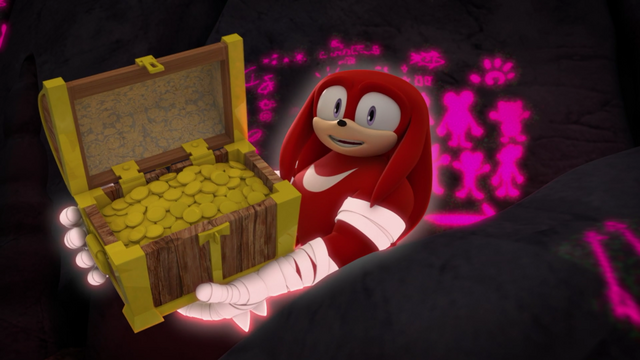 File:Knuckles holding a treasure chest.png
