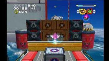 Sonic Heroes Egg Fleet (Team Chaotix)