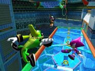 Team Chaotix heroes