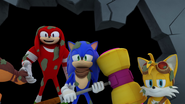 S1E06 Sonic Tails Knuckles