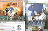 Sonic The Hedgehog (2006) - Box Artwork - European Front And Back- (1)