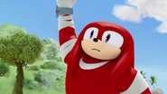 Knuckles infected