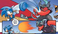 Zavok vs Sonic Archie