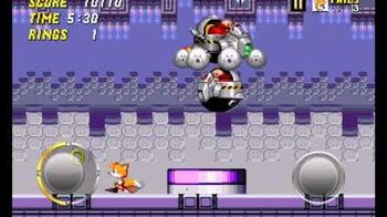 Egg Gauntlet Zone gameplay