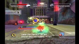 Shadow the Hedgehog Stage 1 Westopolis (Dark Mission no com)