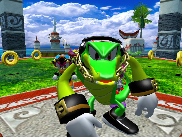 File:Intro - Turtle Shell - Team Chaotix.png