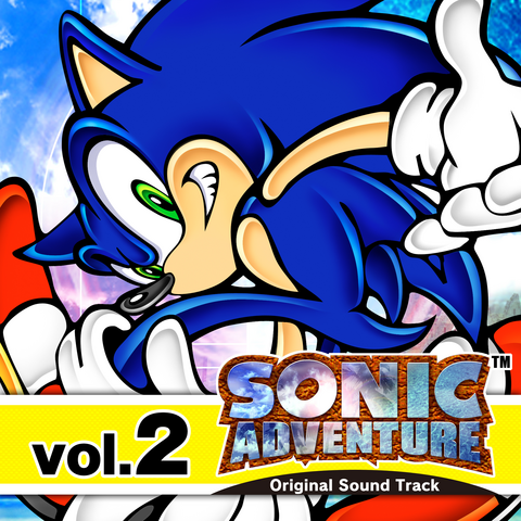 File:Sonic Adventure Original Soundtrack Volume 2.png