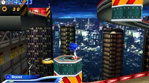 Sonic Generations 3DS - Modern Radical Highway