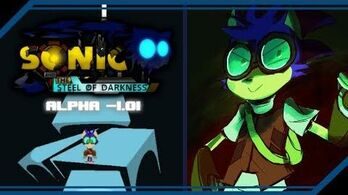 Sonic and the Steel of Darkness Alpha -1
