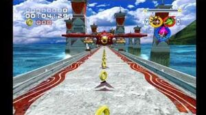 Sonic Heroes Egg Hawk (Team Chaotix)