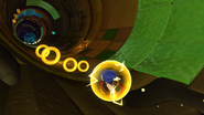 Thunder Shield in Sonic Lost World