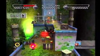 Shadow the Hedgehog Stage 3-2 Prison Island (Dark Mission no com)