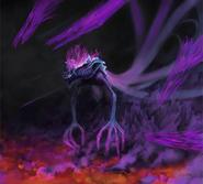Dark Gaia Sega Art by Shalweas