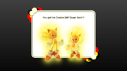 Super Sonic Custom Skill