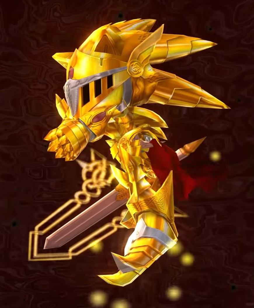 Victory Pose Excalibur Sonic