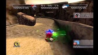 Shadow the Hedgehog Stage 2-2 Glyphic Canyon (Hero Mission no com)