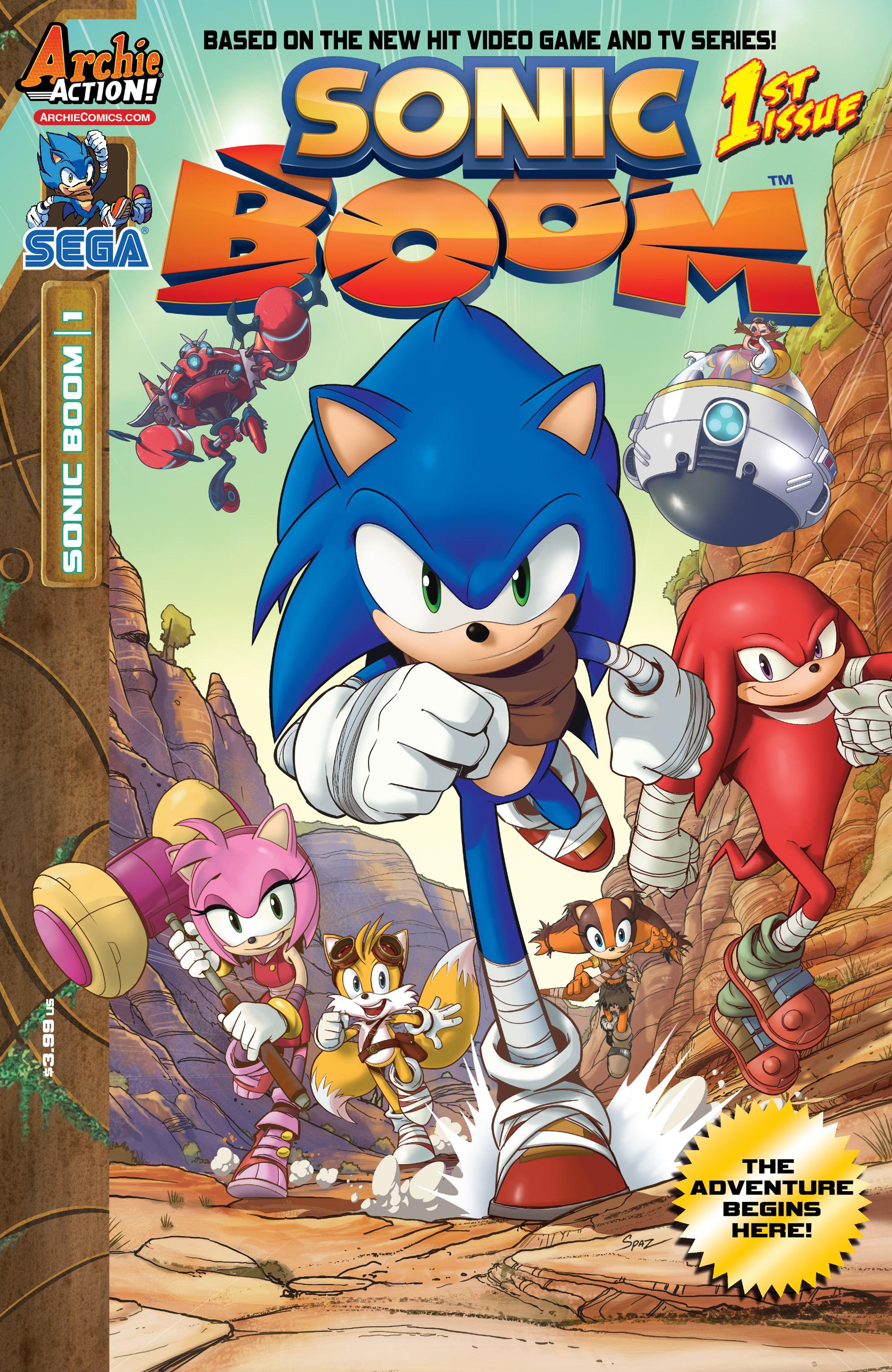 Sonic Boom Serie