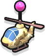 Helicopter - Desert Camo