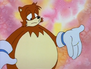 Tails is huge