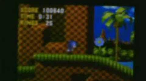 Sonic the hedgehog Green Hill Zone High Score Run