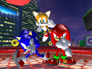 SH City Top Sonic Victory